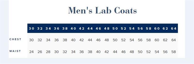 Lab Coat, Mens Full Length 3138 Tall