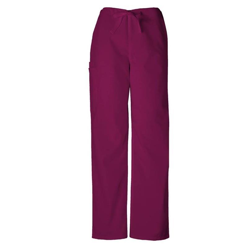 Scrubs Cherokee Workwear Men/'s Drawstring Cargo Pant Tall 4100T GRPW Grape